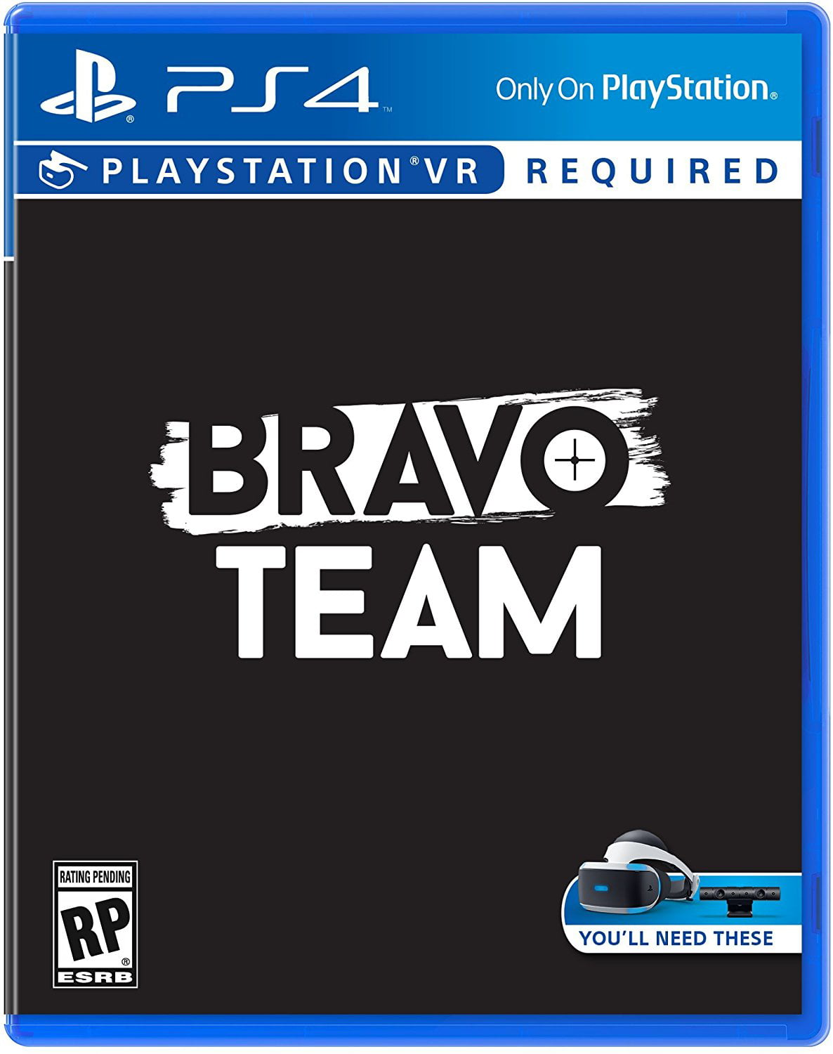 Bravo Team VR, Sony, PlayStation 4, 711719510567 by SONY INTERACTIVE ENTERTAINMENT AMERICA