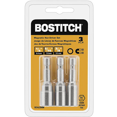 Bostitch 3-Piece Nutdriver Set, BSA23NM