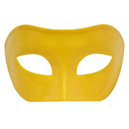 SeasonsTrading Yellow Venetian Masquerade Mask - Mardi Gras Prom Party](Masquerade Prom Decorations)