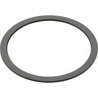 Wheels Manufacturing 0.7mm Black Aluminum Bottom Bracket Spacer