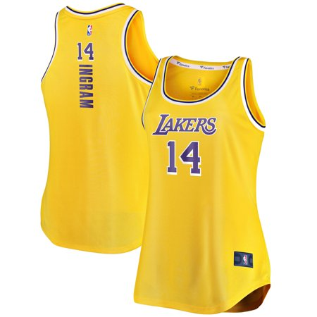 brand new 96561 af012 Brandon Ingram Los Angeles Lakers Fanatics Branded Women's Fast Break Tank  Jersey - Icon Edition - Gold
