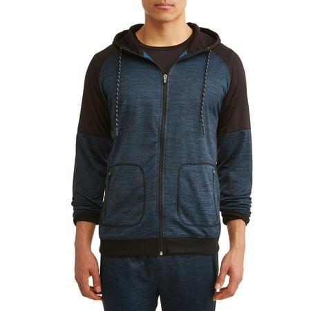 Burnside Men's Hooded Fleece Jacket - Fleece Reflective Jacket