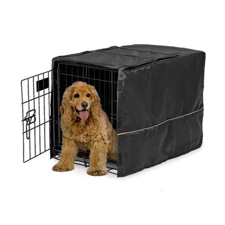 Midwest Homes for Pets Dog Crate Cover - 30-Inch - Black