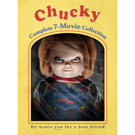 Chucky: Complete 7-Movie Collection (DVD) (Chucky Halloween Horror Nights)