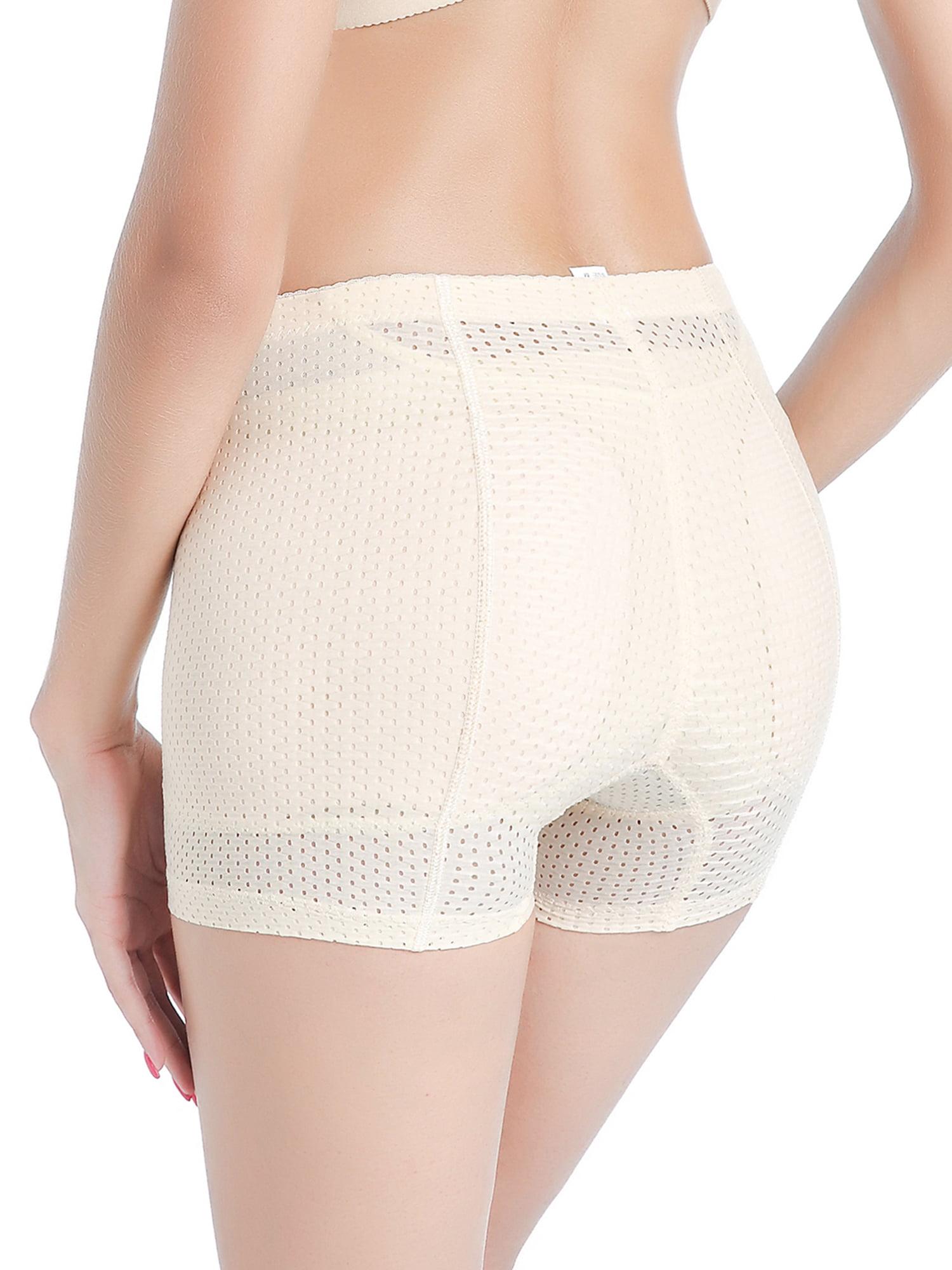 b31e5fcc21 Lelinta - LELINTA Women s Seamless Butt Lifter Padded Panties Enhancer Hip  Slimming Underwear Body Shaper BoyShorts - Walmart.com