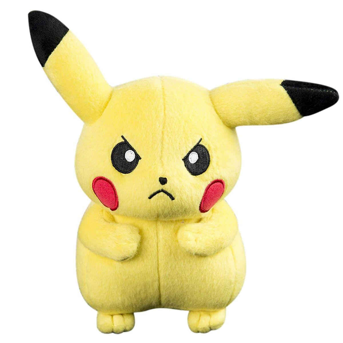 Pokemon Basic 8-Inch Plush - Angry Pikachu - image 1 of 1