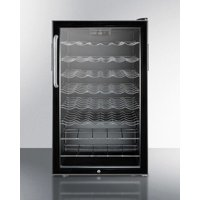 "Summit 20"" Counter-Height ADA Wine Cellar with Lock & Digital Thermostat"
