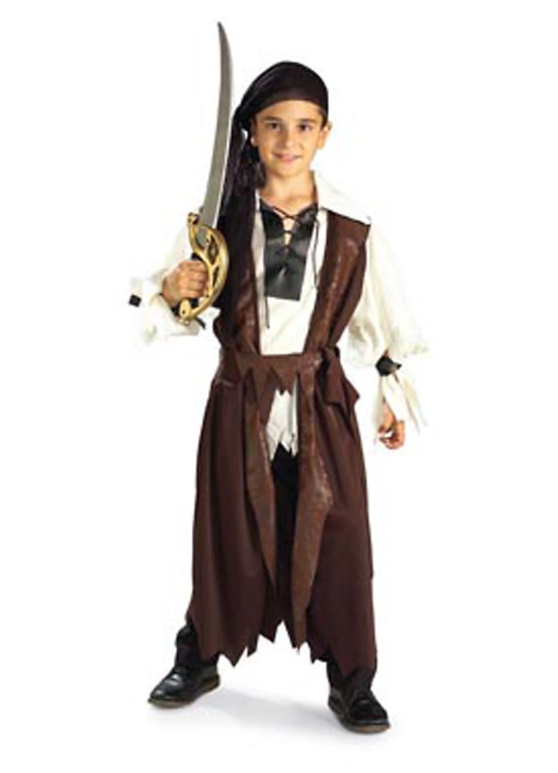 Child Caribbean Pirate Deluxe Costume Rubies 881097 by Rubies
