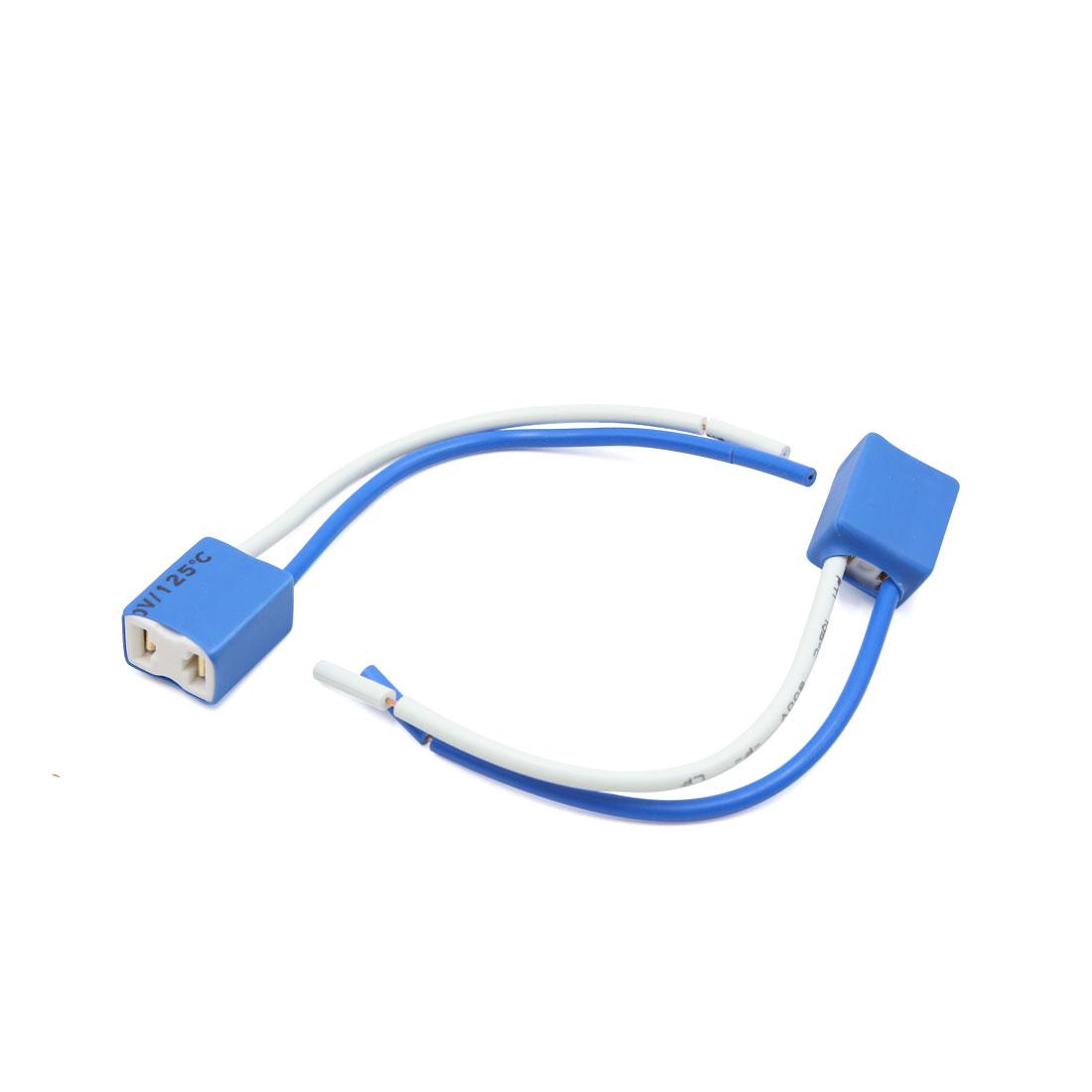 2pcs céramique H7 Ampoule feu antibrouillard Phare Femelle Femelle connecteur pour Voiture - image 1 de 1