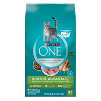 Purina ONE Indoor Advantage Adult Dry Cat Food, 3.5 lb