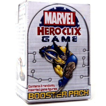 - HeroClix Marvel Universe Booster Pack