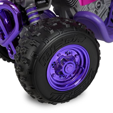 Yamaha Raptor ATV 12-Volt Battery-Powered Ride-On