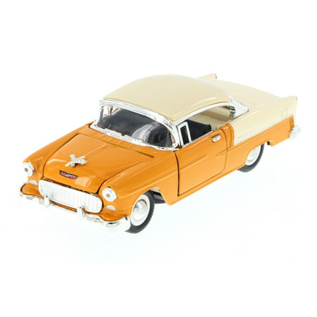 1955 Chevy Bel-Air Hard Top, Tan - Sunnyside 5720D - 1/34 Scale Diecast Model Toy Car (Brand New but NO BOX) (Spongebob Tan Scale)