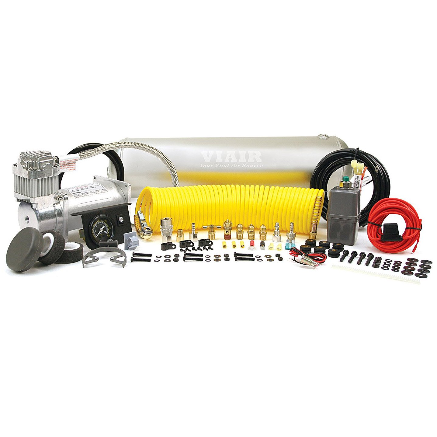 Viair Heavy Duty 150 PSI Onboard Air System Compressor for up to 35 Inch Tires