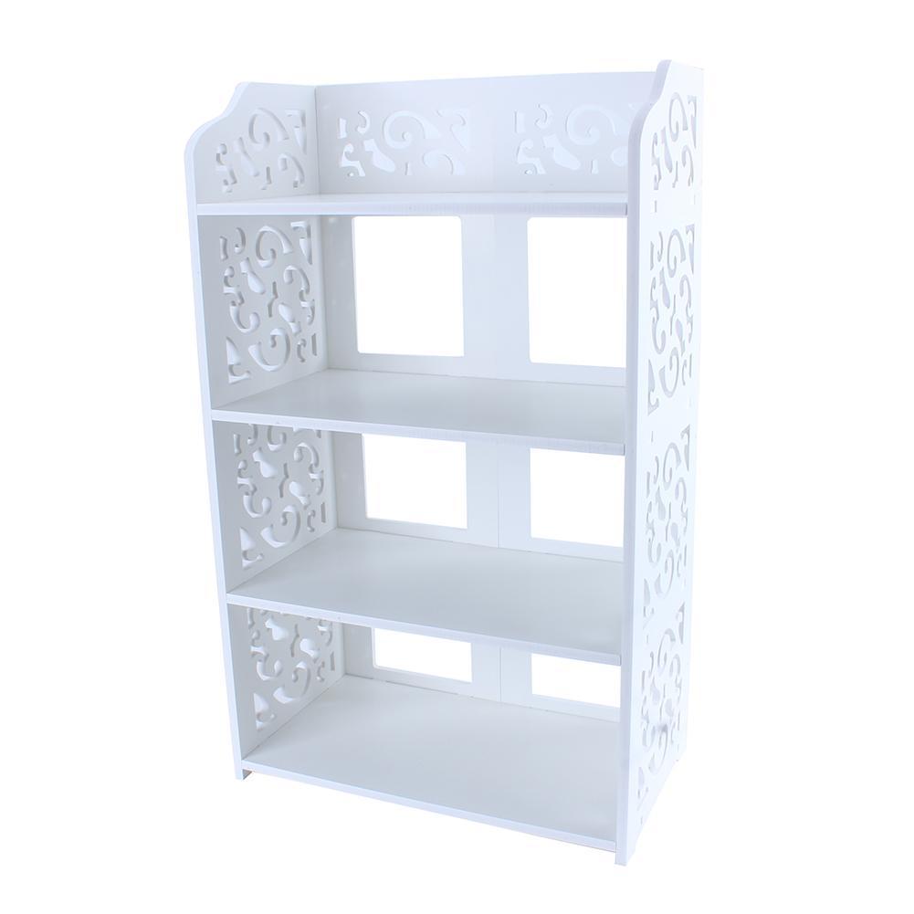 3//4 Tier Home Storage Organizer Cabinet Shelf Space Saving Shoe Tower Rack