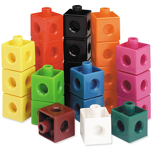 Learning Resources Snap Cubes, Set of 100