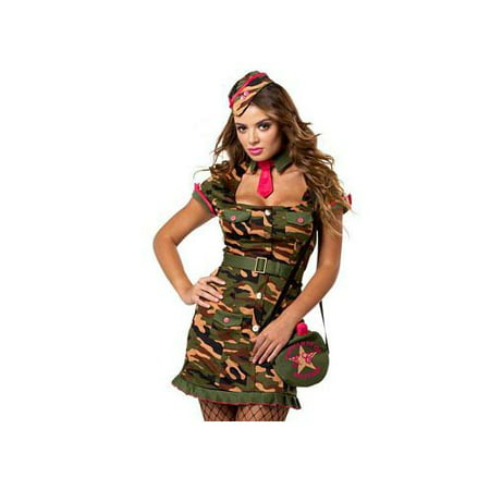 California Costume Collections Private First Class Costume 01218CAL Camouflage