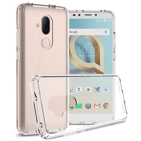 san francisco 725c1 e333c CoverON Alcatel 7 / T-Mobile REVVL 2 Plus Case, ClearGuard Series Clear  Hard Phone Cover