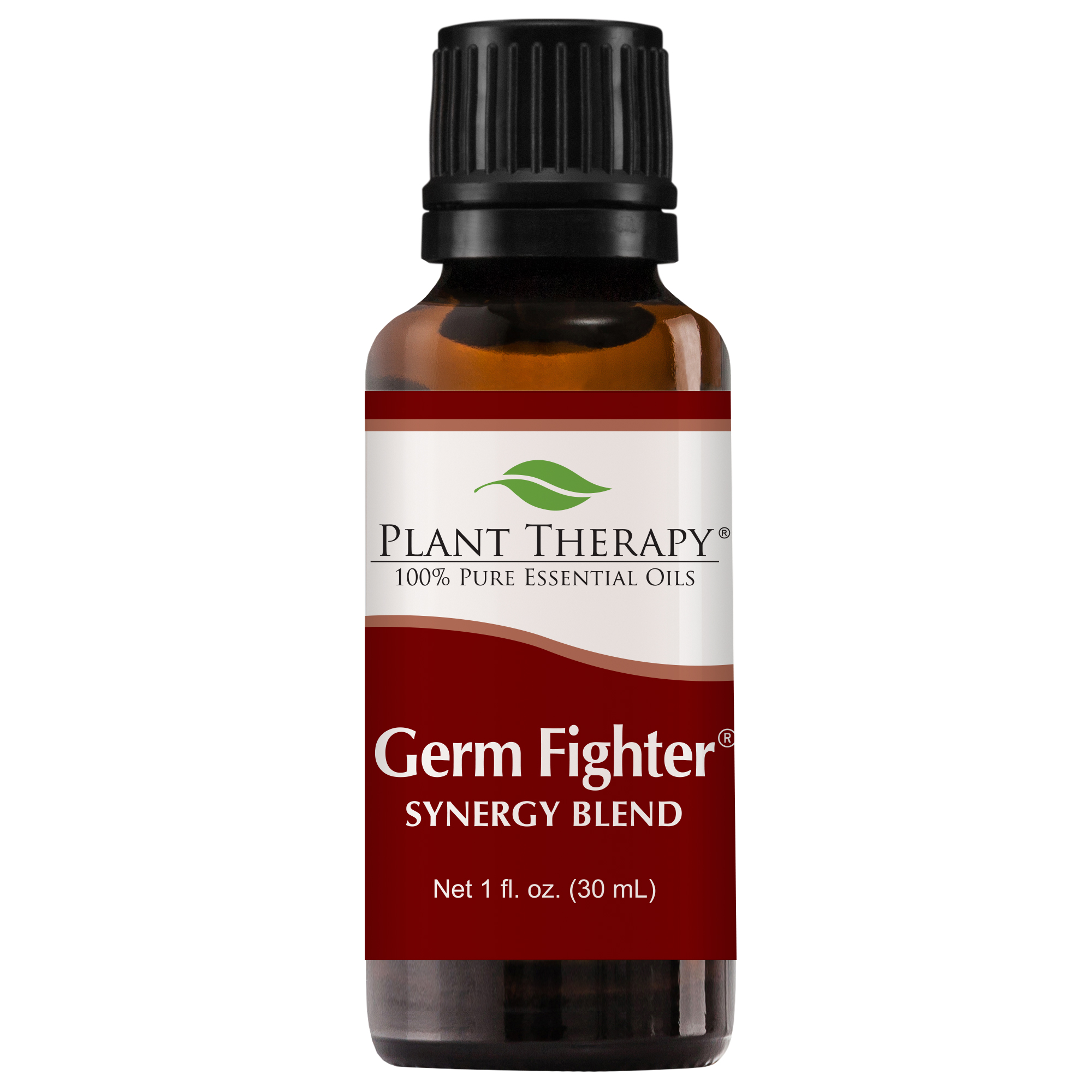 Plant Therapy Essential Oil | Germ Fighter Synergy | Sinus Health and Cold Blend | 100% Pure, Undiluted | 30 mL (1 oz)