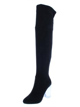 Call It Spring Womens Eriavia Faux Suede Tall Shaft Over-The-Knee Boots