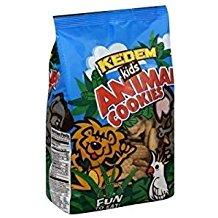 Kedem Kids Animal Cookies 12 Oz. Pack Of 3.
