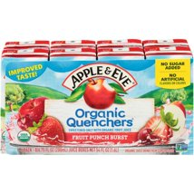 Juice Boxes: Apple & Eve Organic Quenchers