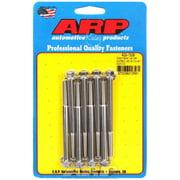 ARP Valve Cover Fastener Bolt Hex Head Polished Center Bolt 8 pc P/N 400-7509