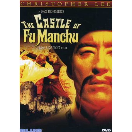 The Castle of Fu Manchu (DVD) - Fu Manchu Moustache