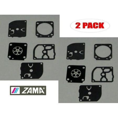 Zama GND-38 Carb Diaphragm & Gasket Kit Echo ES2100 ES2400 PB2100 (2 Pack)