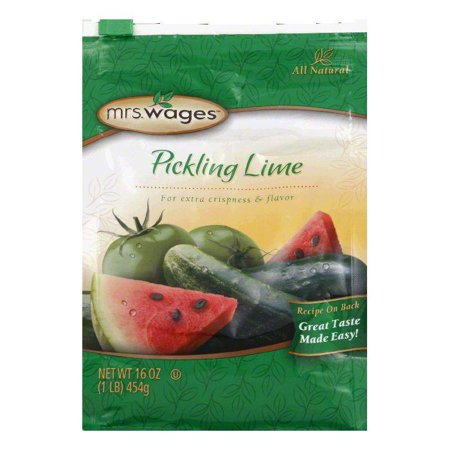 Pickling Lime - Mrs. Wages Pickling Lime, 16 OZ (Pack of 6)