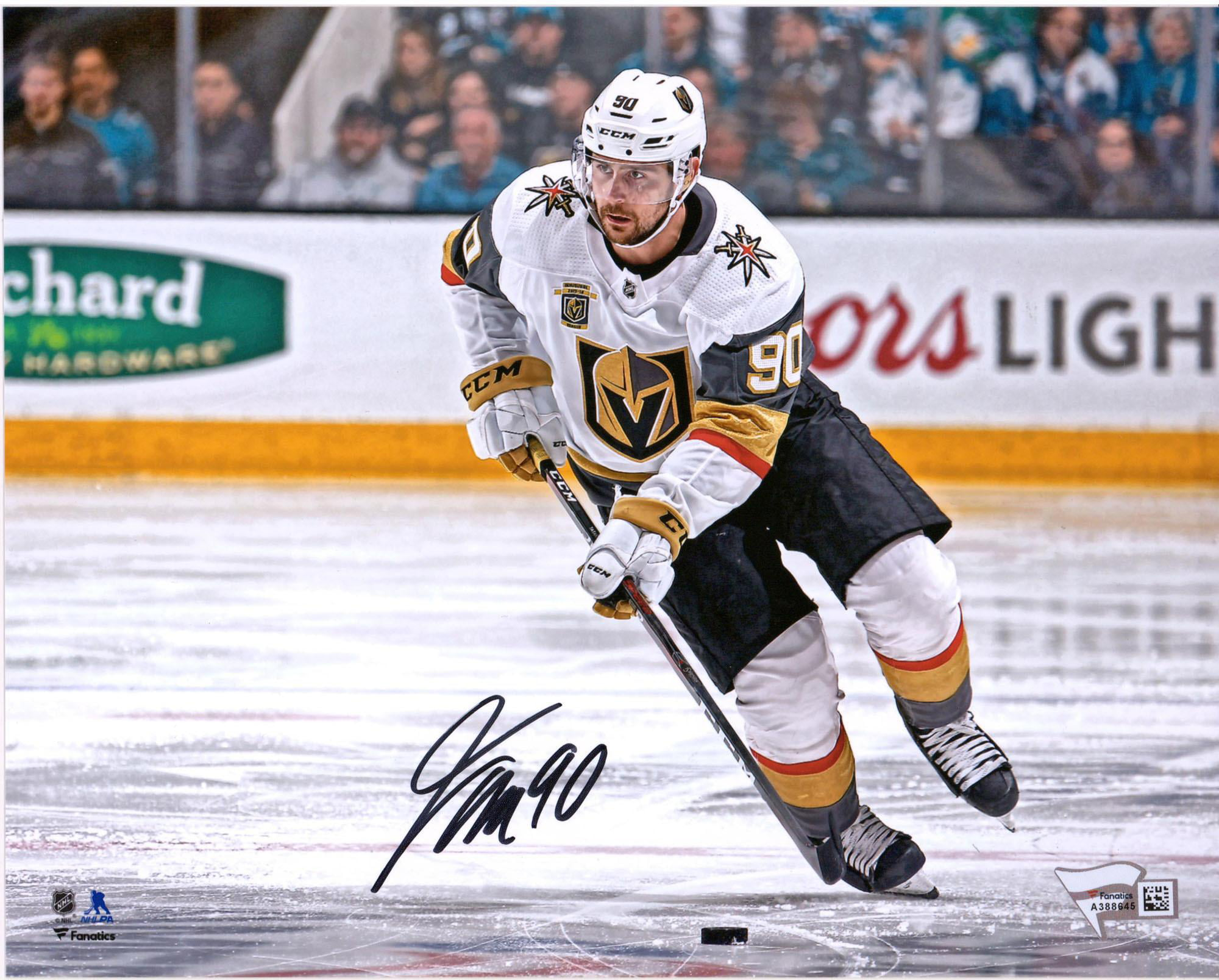 Tomas Tatar Vegas Golden Knights Autographed 8 X 10 White Jersey Skating Photograph Fanatics Authentic Certified Walmart Com Walmart Com