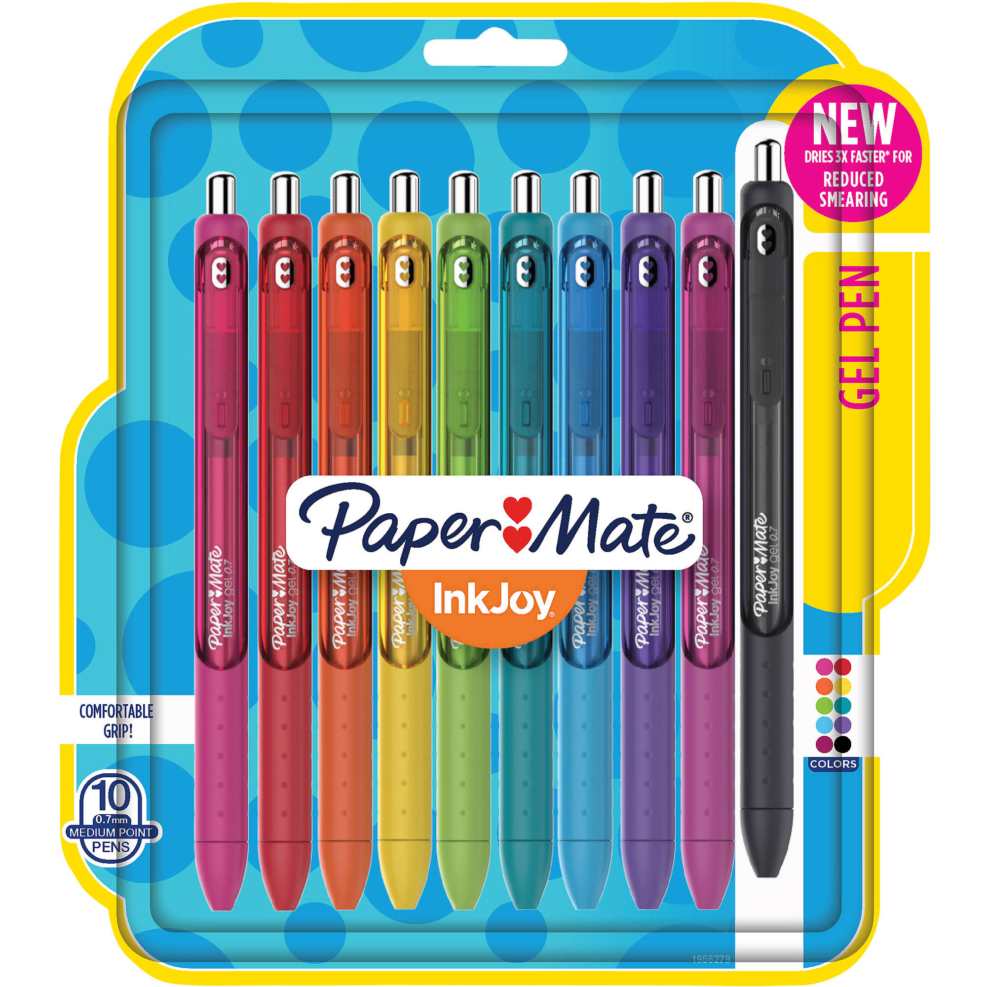 Paper Mate InkJoy Gel Pens, Medium Point, Assorted