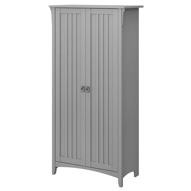 Bush Furniture Salinas Tall Storage Cabinet with Doors