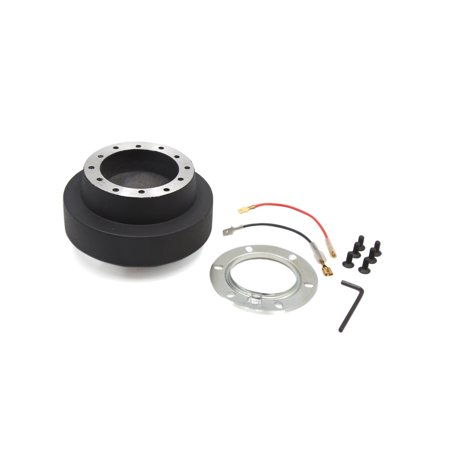 Auto Hub - Black Auto Car Steering Wheel Quick Release Hub Boss Adapter Kit for BMW E46