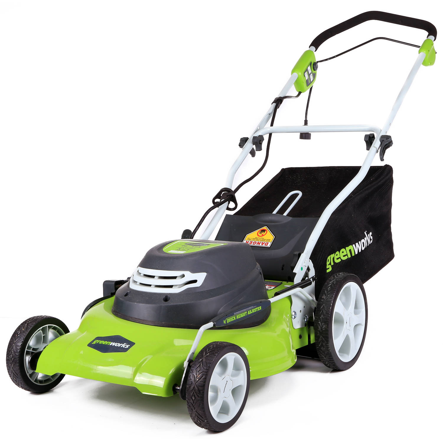 "GreenWorks 25022 12 Amp Corded 20"" Mower"