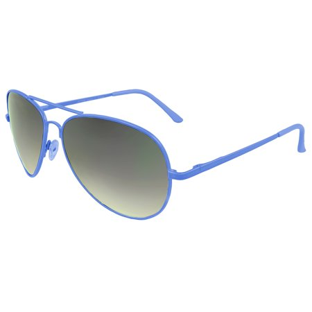 MLC Stylish Color Aviator Sunglasses Blue Edition