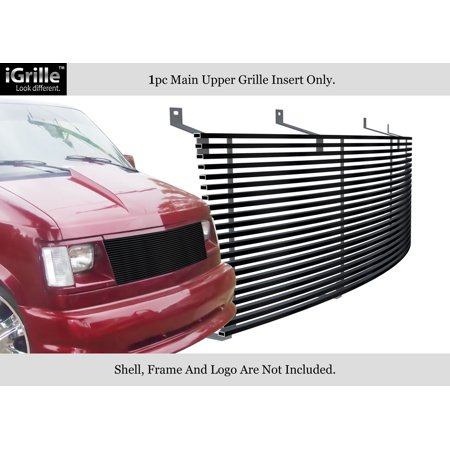 (Fits 85-94 Chevy Astro Van/ GMC Safari Van Black Stainless Steel Billet Grille #C85103J)