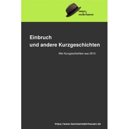 Einbruch und andere Kurzgeschichten - eBook](Halloween Kurzgeschichten)