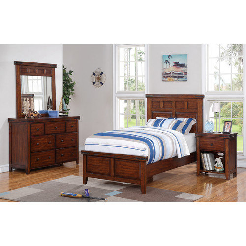 Winners Only, Inc. Twin Panel Customizable Bedroom Set