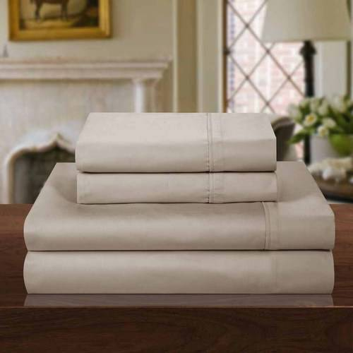 Chic Home 1000 Thread Count Cotton Rich 4-Piece Luxury Sheet Set, Solid