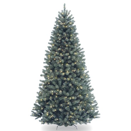 Moonlight Spice (9 ft. North Valley Blue Spruce Tree with Clear Lights )