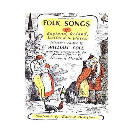 Folk Songs of England, Ireland, Scotland, & Wales by