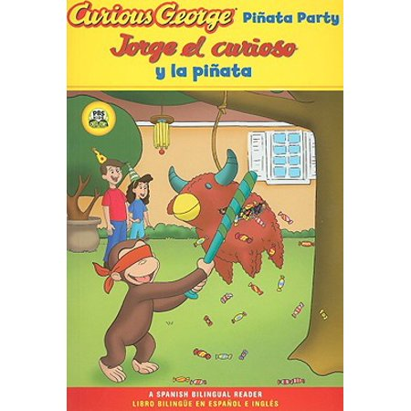 Jorge el curioso y la pinata / Curious George Pinata Party Spanish/English Bilingual Edition (CGTV Reader) - La Boom Halloween Party