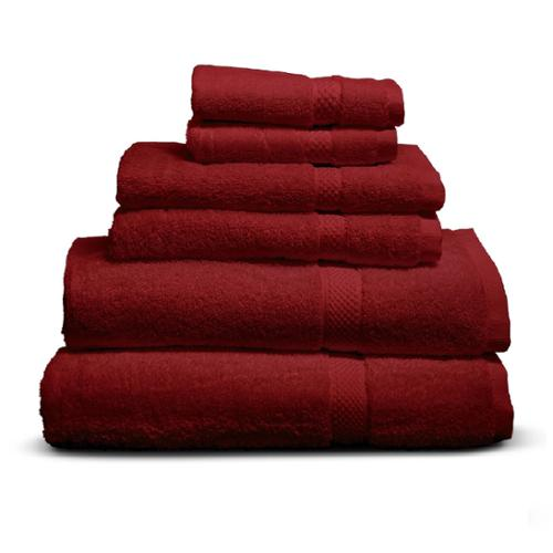 Cheer Collection  6-piece Luxurious 650 GSM Towel Set