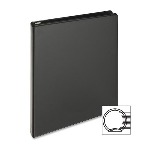 """Business Source Standard View Binders 1 2"""" Binder Capacity Letter 8 1 2"""" x 11"""" SHeet Size 25... by Business Source"""