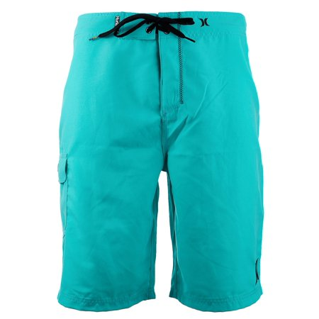 Mens 22 Inch Shorts Charcoal - Hurley One and Only 22 Inch Swimwear Fashion Board Short - Mens