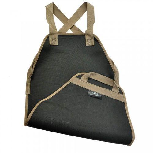 Backsaver Wood Tote Black w/ Taupe Trim