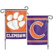 WinCraft NCAA Clemson University Tigers 12x18 Inch 2-Sided Outdoor Garden Flag Banner