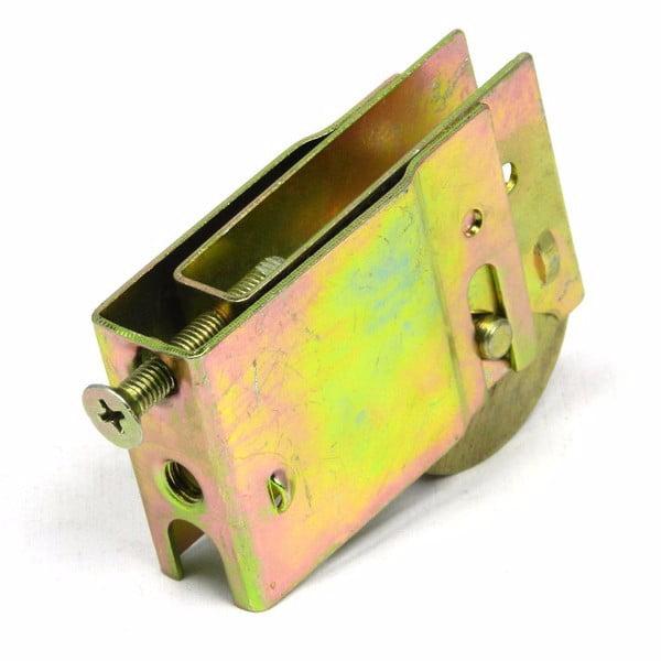 "Barton 21020168 Sliding Glass Door Roller Assembly 1-1/2"" (Crown/Lawson) - Steel Wheel"