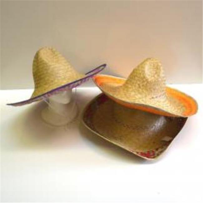 DDI 2133271 Straw Sombrero - Natural